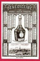 (Réf : C394) BUVARD PROTÈGE-CAHIERS ILLUSTRÉS  BÉNÉDICTINE LA GRANDE LIQUEUR FRANÇAISE (calendrier Rare De 1912) - Liquor & Beer