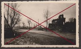 76 LE HAVRE -- Boulevard Foch Le 5 Sptembre 1944 _ Bombardement _ Guerre _ Destruction _ Photo Originale - Guerra, Militari
