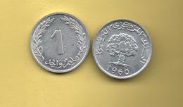 TUNEZ - 1 Millim 1960 - Túnez