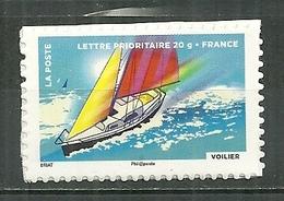 FRANCE MNH ** Adhésif Autocollant 894a Fête Du Timbre L'air Voilier Bateau Boat - Adhésifs (autocollants)