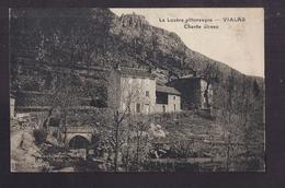 CPA 48 - VIALAS - Chante Oiseau - TB PLAN Château Et Groupe De Maisons - La Lozère Pittoresque - France