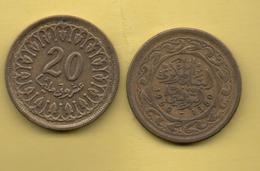 TUNEZ - 20 Millim 1960 - Túnez