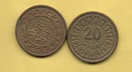 TUNEZ - 20 Millim 1983 - Túnez