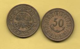 TUNEZ - 50 Millim 1960 - Túnez