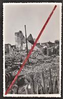 76 LE HAVRE -- Quai George V Et Vu Sur La Bourse Après Les Bombardements 1944 _ Guerre _ Destruction _ Photo Originale - War, Military