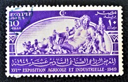 ROYAUME - SYMBOLE DU NIL 1949 - OBLITERE - YT 265 - MI 330 - Egypt
