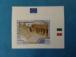 2009 ITALIA FRANCOBOLLO NUOVO DA LIBRETTO STAMP NEW MNH** GIORNATA DELL'EUROPA ODEON DI PATRASSO GRECIA - 6. 1946-.. Repubblica