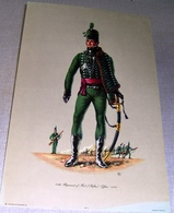 Illustration « 95th Regiment Of Foot (Rifles).  Officer.  1810 – Patrician Art Products Ltd - Lithographies