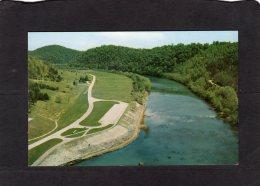 77410   Stati  Uniti,    Looking Down The Clinch River From  Norris Dam,  Norris Dam State Park,  NV - Etats-Unis