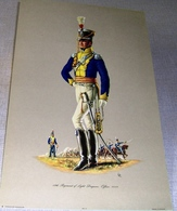Illustration « 12th Regiment Of Light Dragoons.  Officer.  1812 – Patrician Art Products Ltd - Lithographies