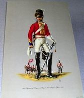 Illustration « 2nd Regiment Of Dragoons (Royal Scots Greys.  Officer.  1815 – Patrician Art Products Ltd - Lithographies