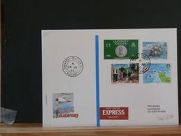 76/327  LETTRE POUR LA SUISSE  1983 EXPRES - Alderney