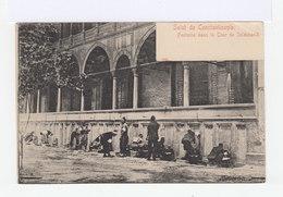 Salut De Constantinople. Fontaine Dans La Cour De Suleimanié. Oblitération Constantinople Galata. (2850) - Levant (1885-1946)