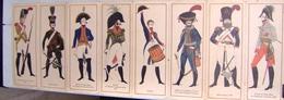 Illustration « Hussards Er Dragons » Dessins De Franco Testa –d. Stock - Lithographies