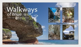 New Zealand 2017 First Day Cover - 2017 Walkways Of Niue First Day Cover - Ungebraucht