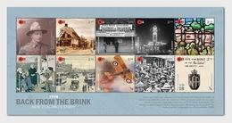New Zealand 2018 Miniature Sheet - 1918 Back From The Brink Sheetlet Of Mint Stamps - Nuova Zelanda
