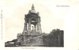 Porto Westfalica V. 1903  Kaiser Wilhelm Denkmal  (025) - Porta Westfalica