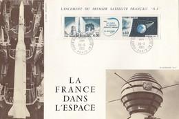 GOOD FRANCE MC 1965 - SPACE / SATELLITE A1 - 1960-69