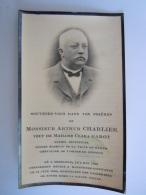 Image Mortuaire Arthur Charlier Gembloux 1858 Molenbeek-Saint-Jean 1935 Ancien échevin Namur Veuf Clara Garot - Devotion Images