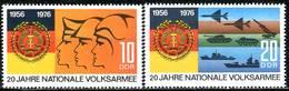 DDR - Mi 2116 / 2117 - ** Postfrisch (B) - 10-20Pf      20 Jahre Volksarmee - [6] République Démocratique