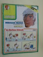 BDSF2013 Revue JUNIOR Du / Couverture Avec BERNARD PRINCE N°28 De La 24e Année 08/07/1976 , Bon état - Magazines Et Périodiques