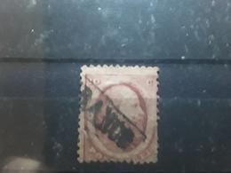 NEDERLAND / Netherlands / Pays Bas,1864, Guillaume III, Yvert No 5, 10 C Rose Obl FRANCO, Cote 10 E - Gebraucht