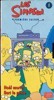K7 VHS CASSETTE VIDEO - LAS SIMPSON 1ERE SAISON N°1 - Dessins Animés