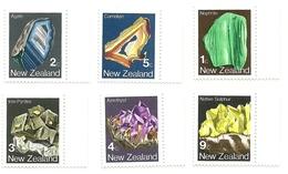 1982 - Nuova Zelanda 1825/30 Mineral, - Minerali