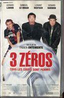 K7 VHS CASSETTE VIDEO - 3 ZERO - Comedy