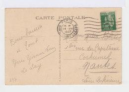 Paris. Avenue Des Champs Elysées. Arc De Triomphe. Automobiles Années 1930. (2854) - Champs-Elysées