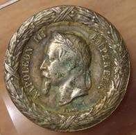 Médaille Napoléon III Campagne D'Italie 1859 Sans Béliére - Médailles & Décorations