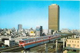 MONO-RAIL AND THE TRADING CENTER BUILDING (Tokyo) - Tokyo