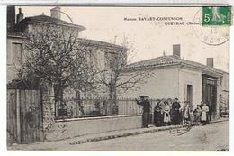 33..MAISON   SAVARY- CONFESSON  - QUEYRAC   (MEDOC )  MAGASIN   MODE  TRES ANIMEE    TBE - France