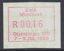 SWA 1988 Frama Label Unused ** Mnh  (38809) - Africa Del Sud-Ovest (1923-1990)