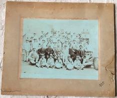 ^ SEBENICO SIBENIK CROAZIA BANDA MUSICALE GRUPPO FOTO PHOTO ORIGINALE IN CARTONCINO DOCUMENTO 46 - Mestieri