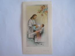 Communie Communion 1958 Jan De Koninck Kerk O. L. Vrouw Van Bijstand Walem  AR Dep 219 Italy - Devotion Images
