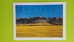 Cartolina TRUJILLO (Caceres) - SPAGNA - Viaggiata - Postcard - Vista General - Cáceres