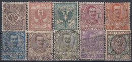 ITALY 74-84,used,falc Hinged - Timbres