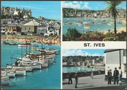 Multiview, St Ives, Cornwall, C.1970s - John Hinde Postcard - St.Ives