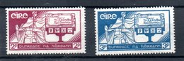 Irlande / N 71 Et 72  / NEUF Avec Trace Charnière - 1922-37 Irish Free State