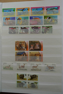25901 Thematik: WWF: Stockbook With MNH Sets And FDC's With WorldWildlifeFund Stamps. - W.W.F.
