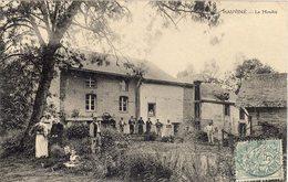 08. Hauviné. Le Moulin à Eau. Animée  - 1906 - VR_B7_Mol3 - France