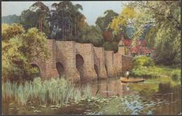 EW Haslehust - Greatham Bridge, Sussex, C.1910s - Vivian Mansell Postcard - England