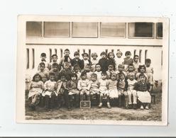 LE BOUSCAT (GIRONDE) PHOTO DE CLASSE MIXTE ECOLE MATERNELLE 1954 1955 - Places