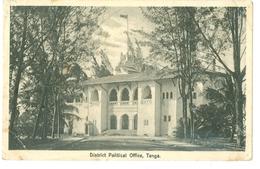 1900's, Tanganyika, District Political Office. Printed Pc, Used. - Tanzania