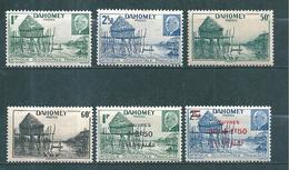Timbres Du Dahomey   De 1941/44 N°149 A 154  Neufs * - Dahomey (1899-1944)