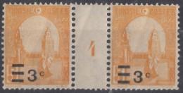 "N° 154 Millésime "" 4 "" - X X - ( C 247 ) - Tunisie (1888-1955)"