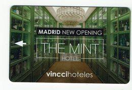 HOTEL VINCCI THE MINT, Madrid, Llave, Clef, Key Keycard - Hotel Labels