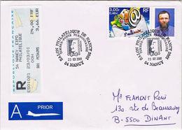 """France - (R) Timbre Personnalisé """"Salon Philatélique De Nancy 2001"""" - 23 Mars 2001 - France"""