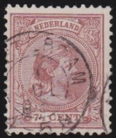 Nederland       .  NVPH      .    36        .    O    .     Gebruikt   .    /    .     Cancelled - Periode 1891-1948 (Wilhelmina)